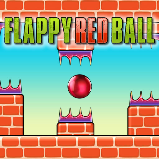 Flappy Red Ball HTML5